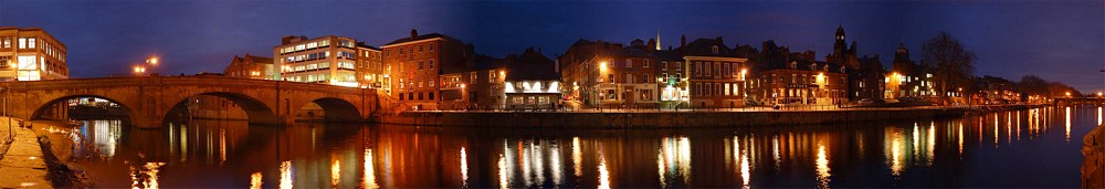 York panorama at night