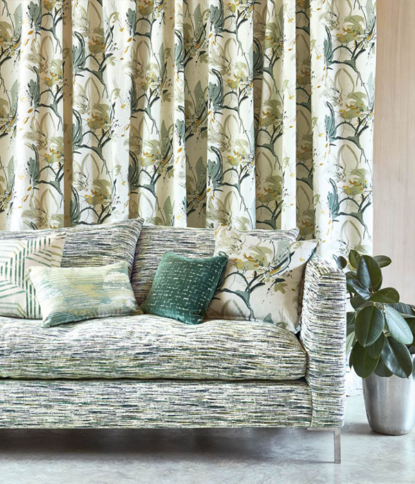 Artesia - Eden fabric by Villa Nova available from Fabric Gallery and Interiors