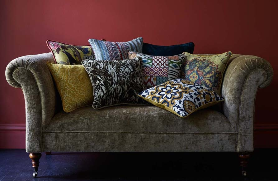 GP&J Baker East to West Collection available from Fabric Gallery and Interiors