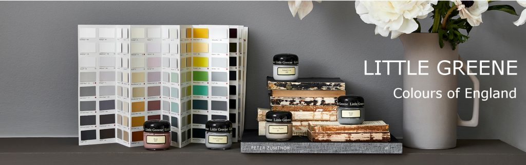 Colours of England by Little Greene Paint, available from Fabric Gallery and Interiors