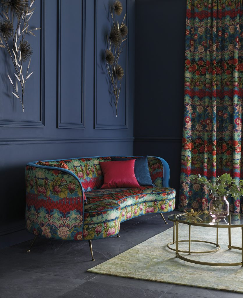 Osborne and Little Palazzo Torcello fabric from Fabric Gallery and Interiors