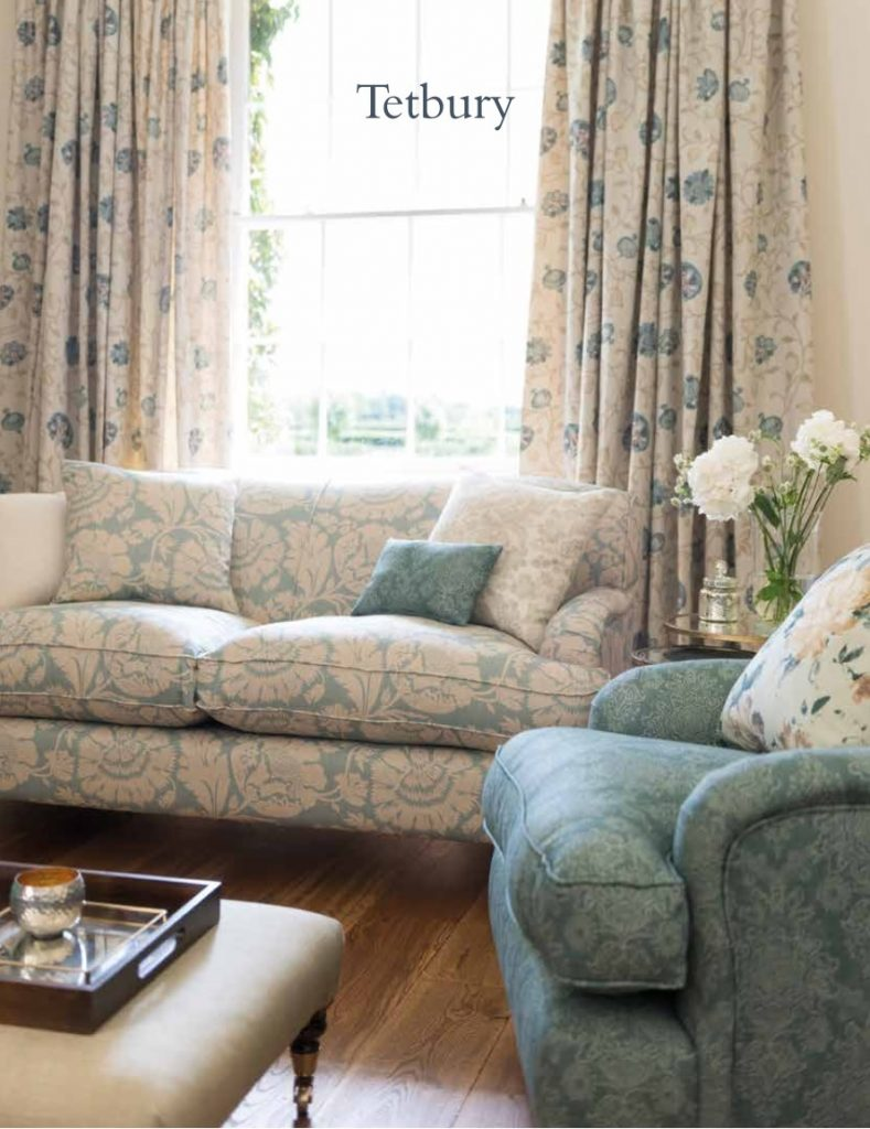 Swaffer Tetbury collection available from Fabric Gallery and Interiors in York - call 01904 481101 for UK delivery