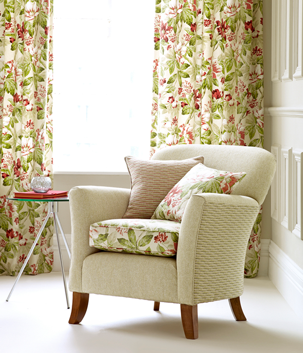 Eden Fabric Collection available from Fabric Gallery and Interiors in York - call 01904 481101 for UK delivery