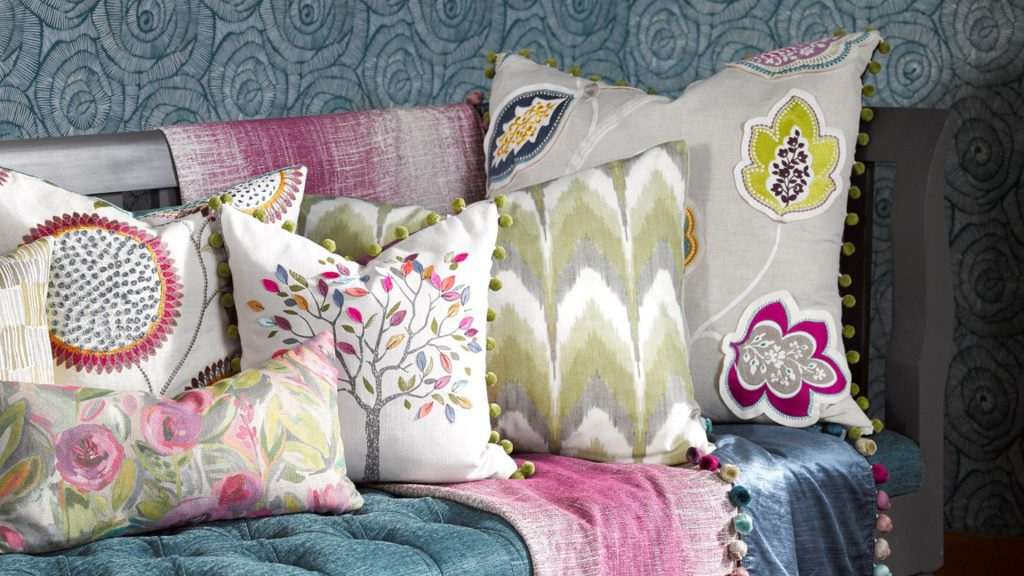Rashieka's Garden from Voyage Decoration, available from Fabric Gallery and Interiors