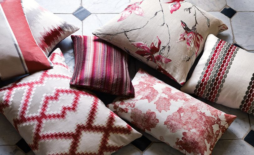 Danton fabric by Romo from Fabric Gallery and Interiors