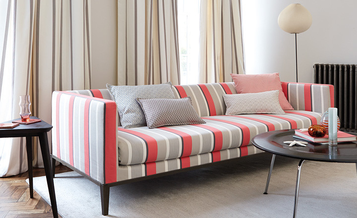 Romo Kitson Stripe Fabric