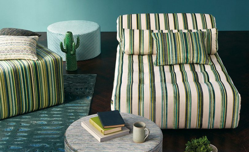 Parada fabric by Romo from Fabric Gallery and Interiors