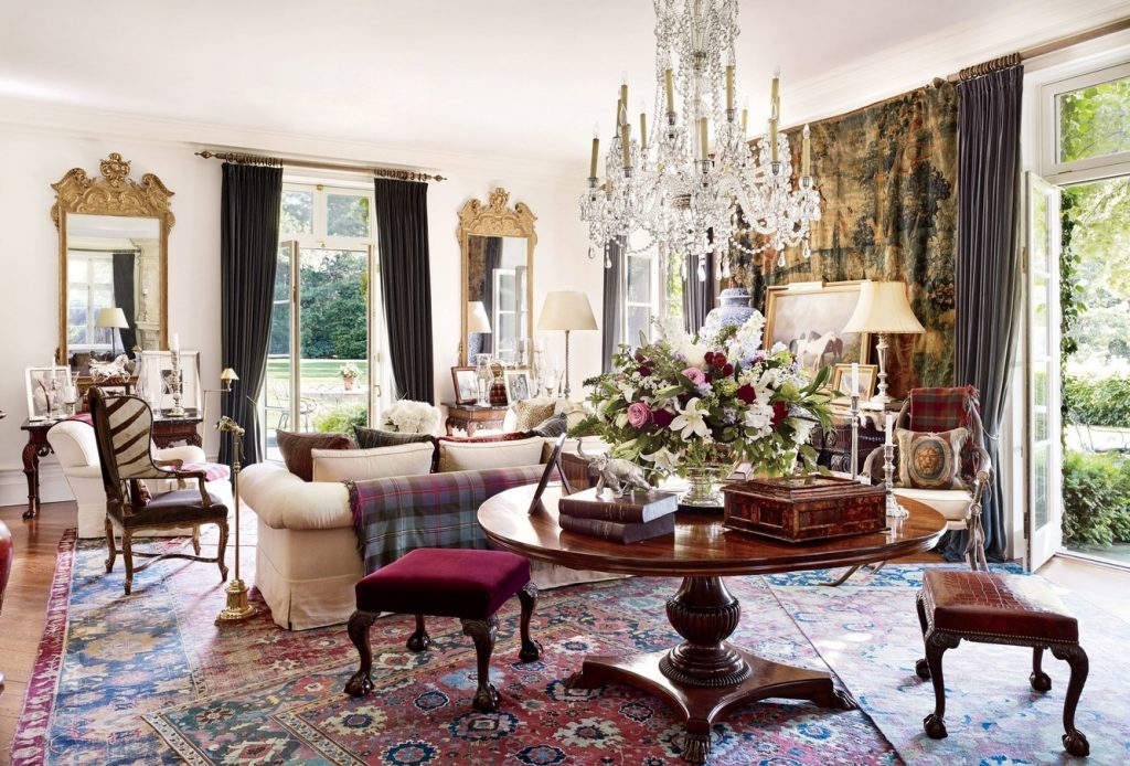 Ralph Lauren style available through Fabric Gallery and Interiors
