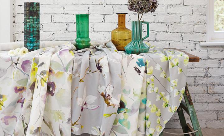 Romo Saphira fabrics from Fabric Gallery & Interiors