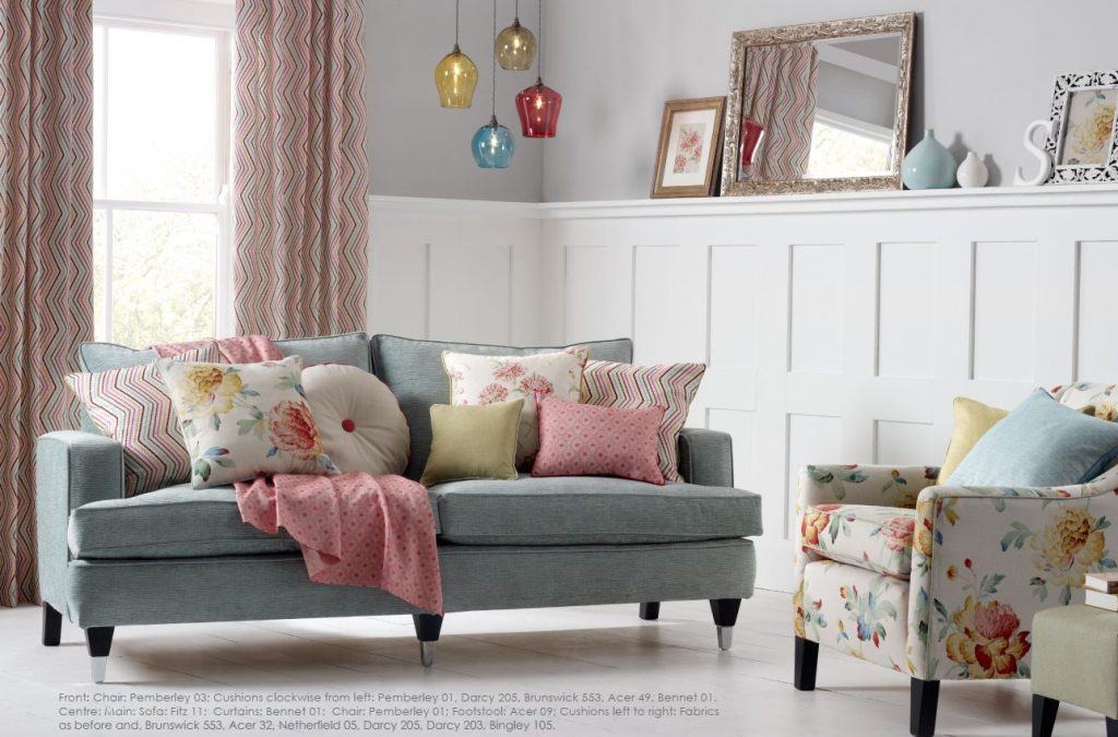 Austen Weaves fabric collection by Swaffer - Buy from Fabric Gallery and Interiors