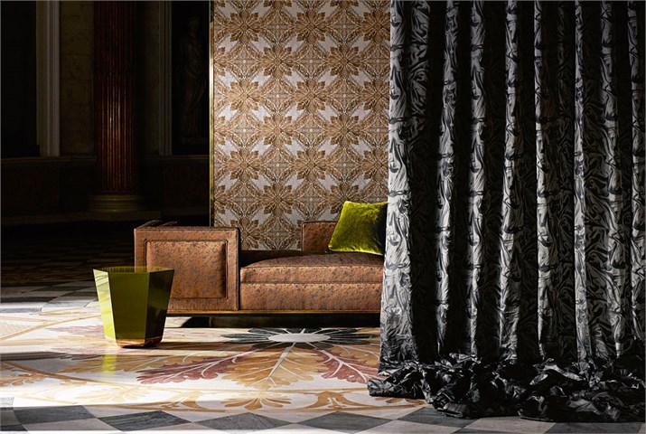 Phaedra Fabric Collection by Zoffany from Fabric Gallery and Interiors