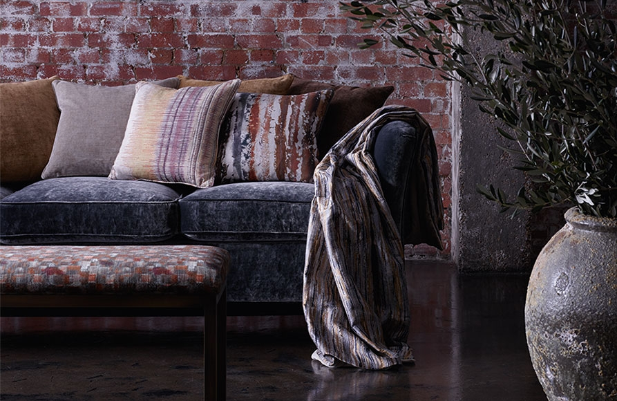 Meridian Collection from Threads available from Fabric Gallery and Interiors