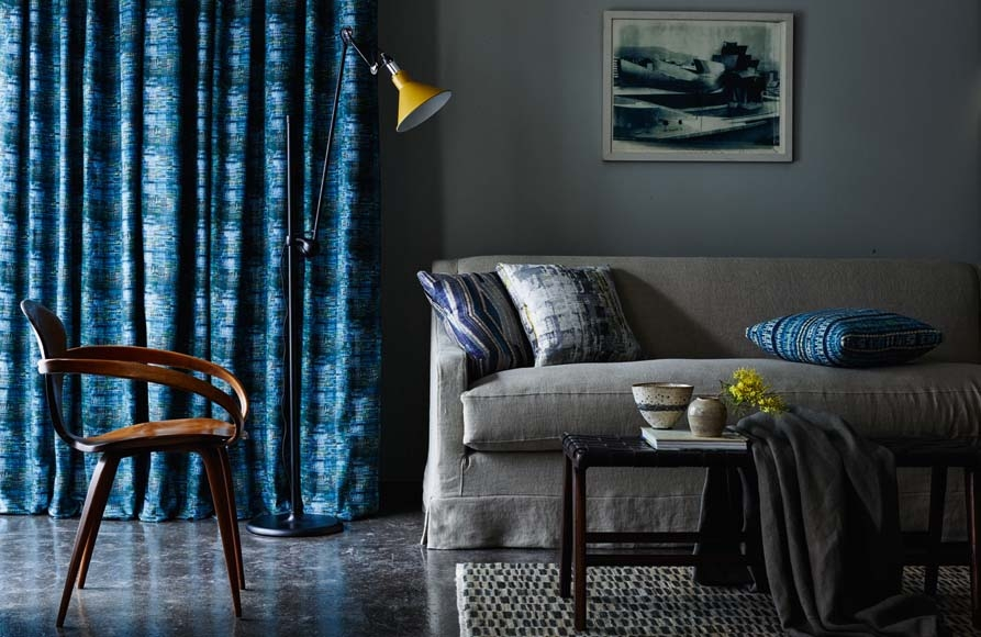 Threads Meridian Collection fabrics available from Fabric Gallery and Interiors