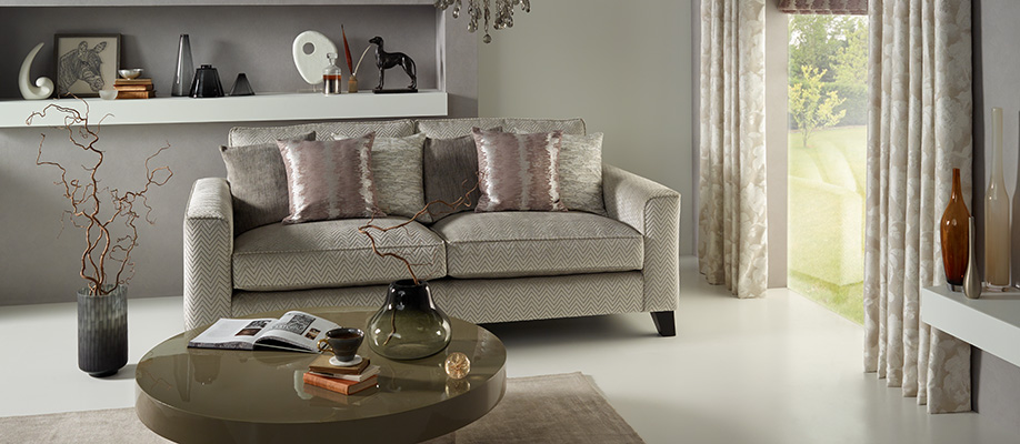 Today Interiors Makino Collection available from Fabric Gallery and Interiors