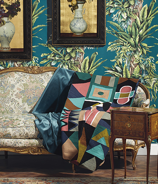 Pierre Frey's Pachira fabric, available st Fabric Gallery and Interiors