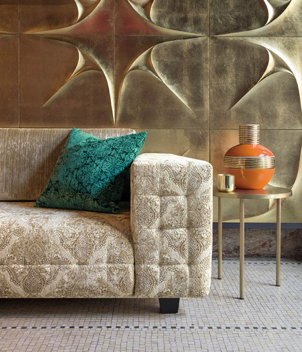 Today Interiors Marrakech Fabric available from Fabric Gallery and Interiors