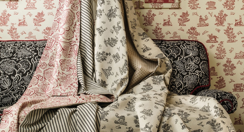 Celia Birtwell Classics from Blendworth available at Fabric Gallery and Interiors, York