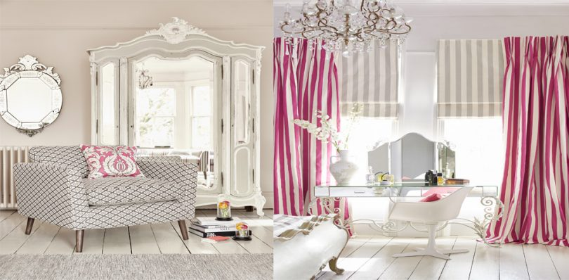 Chateau fabric by Clarke and Clarke from Fabric Gallery and Interiors