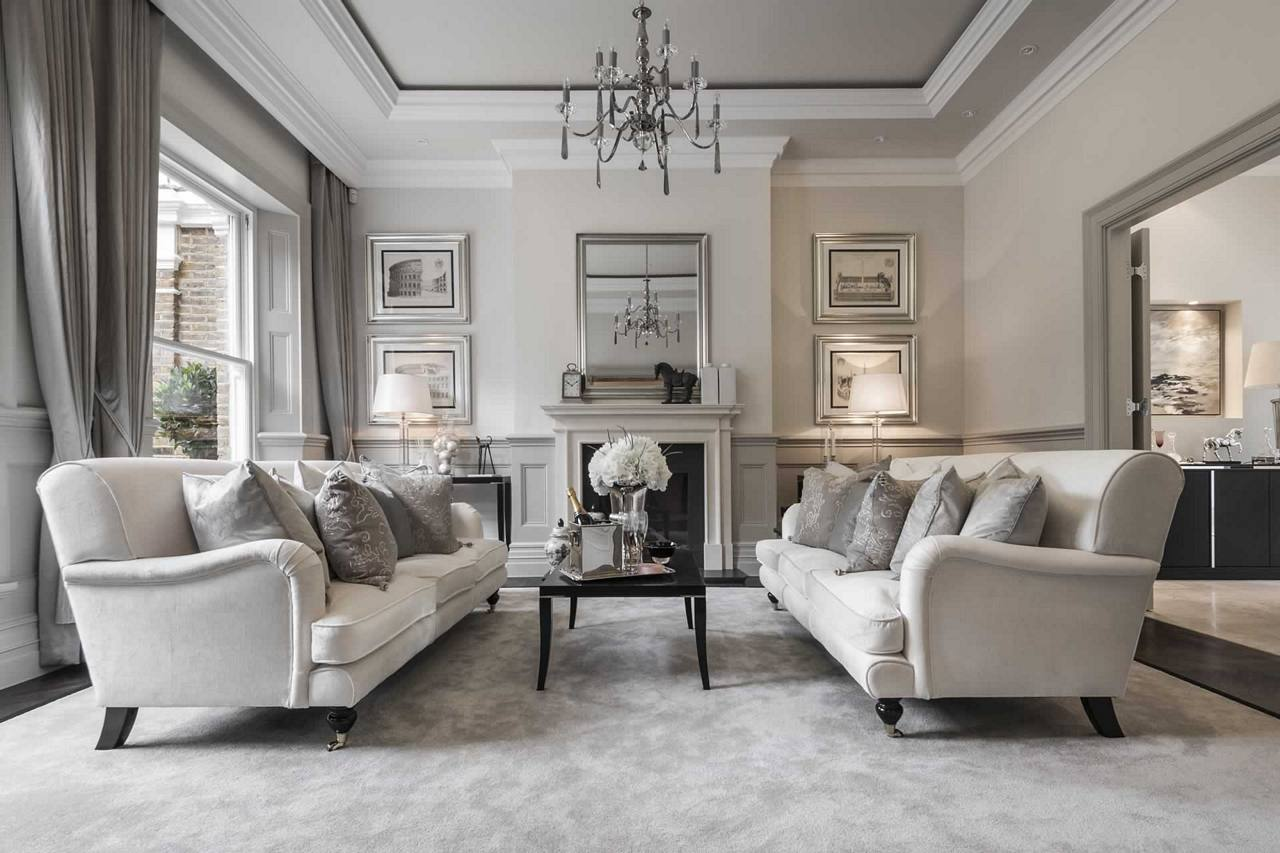 tn_Show home traditional lounge style in modern greys -