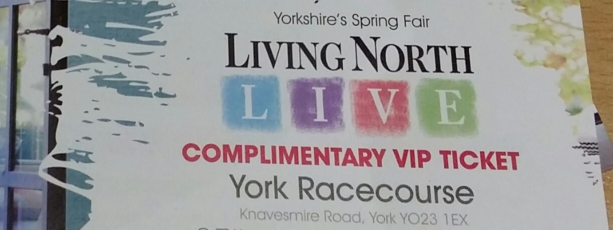 2014 Living North Live VIP ticket - photo