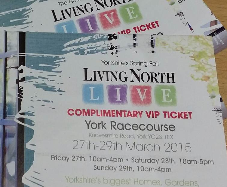 Living North Live 2015 VIP tickets