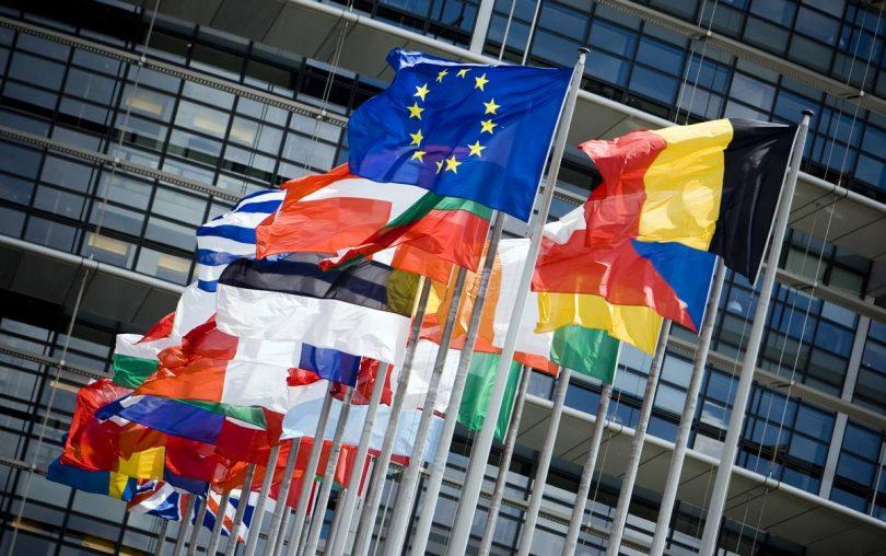 European flags photo