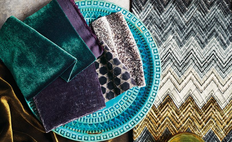 Zenith by Black Edition from Fabric Gallery and Interiors