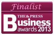 The Press - Business awards 2013 - Finalist