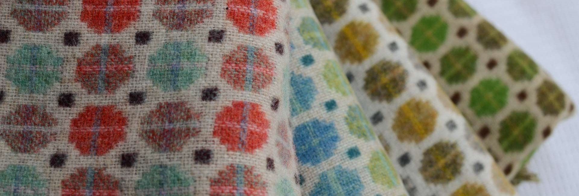 Bronte Milan Woollen throws available from Fabric Gallery and Interiors, Dunnington, York