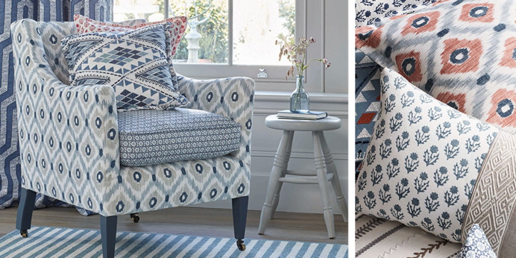 Baker Lifestyle HOMES & GARDEN III Collection available from Fabric Gallery and Interiors