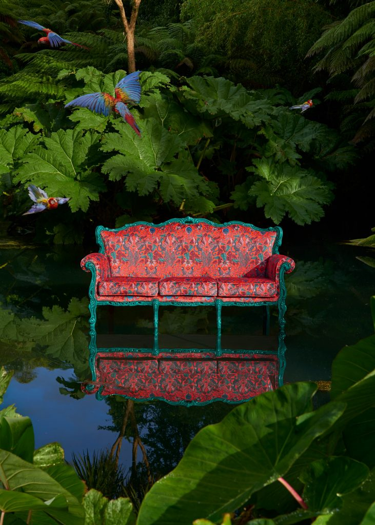 Animalia fabric by Clarke and Clarke available from Fabric Gallery and Interiors