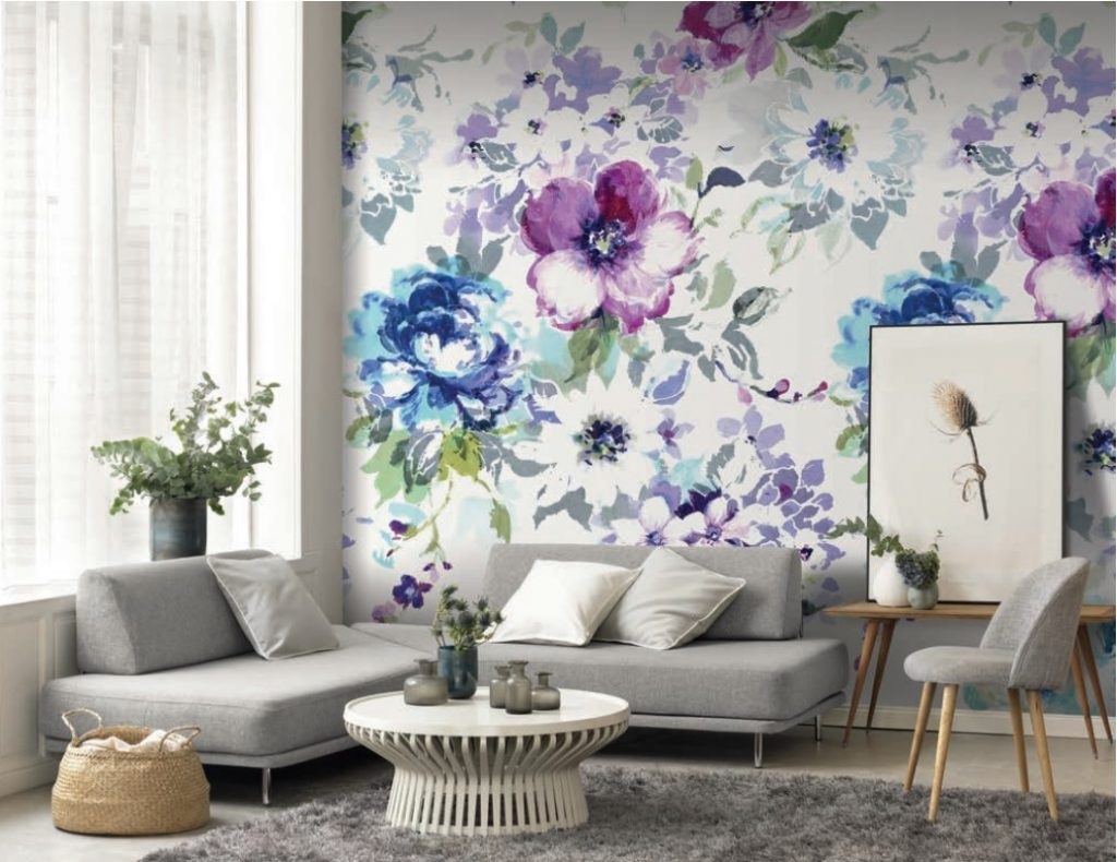 Casadeco Florescence wallpaper from Fabric Gallery and Interiors