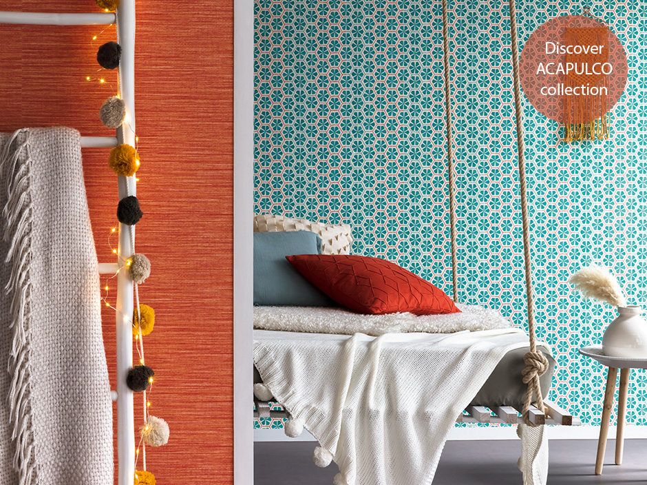 Caselio Acapulco collection available from Fabric Gallery and Interiors