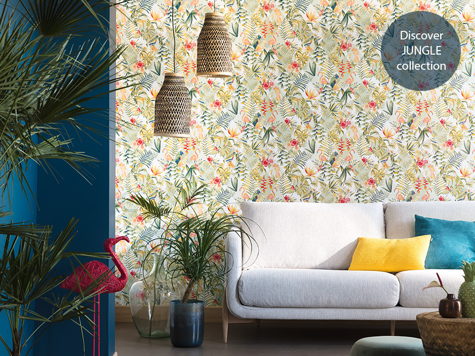 Caselio Jungle collection available from Fabric Gallery and Interiors
