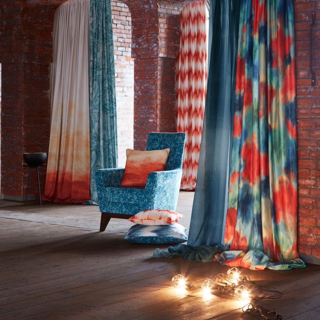 Elementa collection by Clarke and Clarke available from Fabric Gallery and Interiors