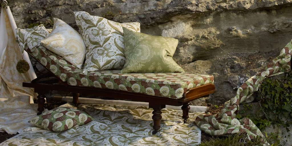 Elanbach Tree of Life collection available from Fabric Gallery and Interiors