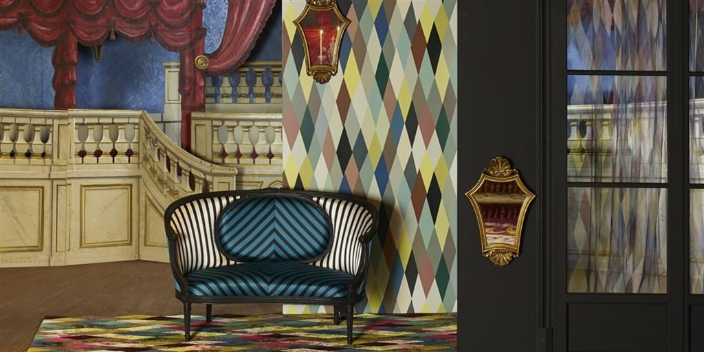 Mascarade, Cabanon by Christain Lacroix available from Fabric Gallery and Interiors