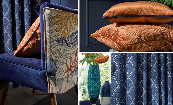 iLiv Maldives collection available from Fabric Gallery and Interiors