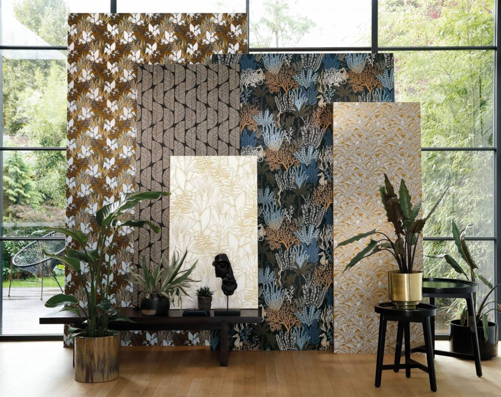 Casamance Orphee collection available from Fabric Gallery & Interiors
