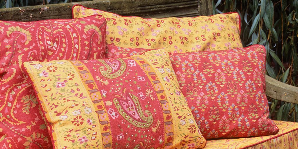 Elanbach Spice Route available from Fabric Gallery and Interiors