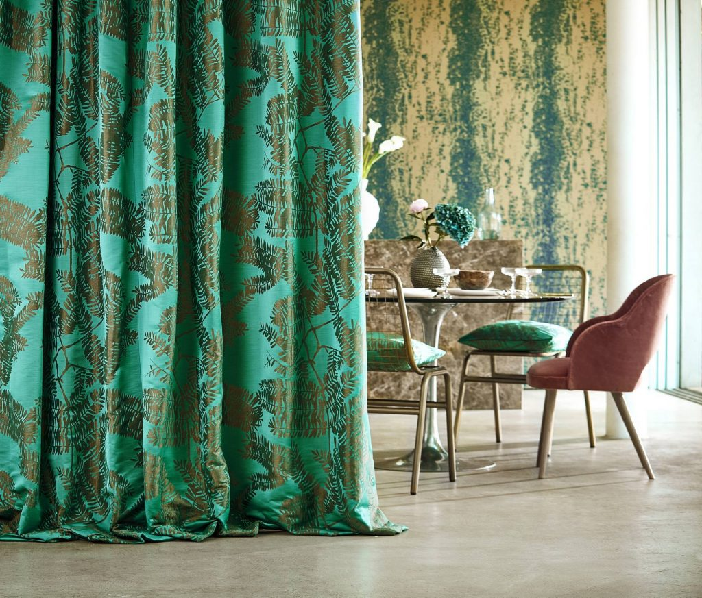 Lucero fabrics by Harlequin available from Fabric Gallery and Interiors in York, Yorkshire