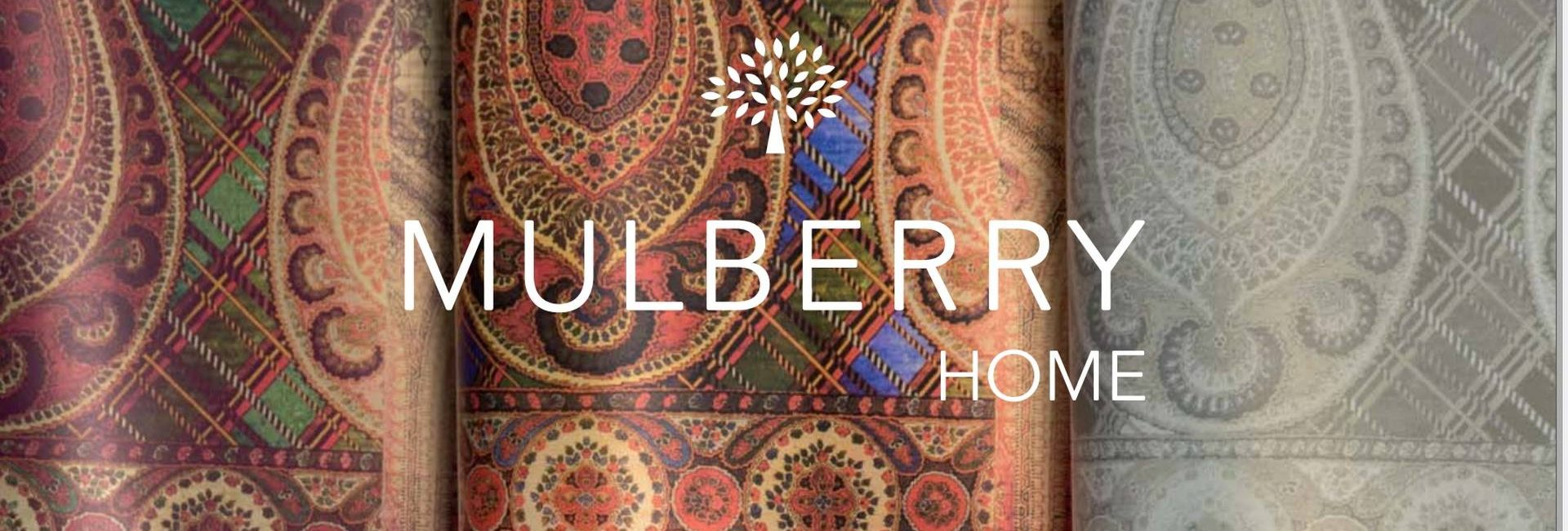 Mulberry Home fabrics and wallpapers - available from Fabric Gallery and Interiors in Dunnington, York