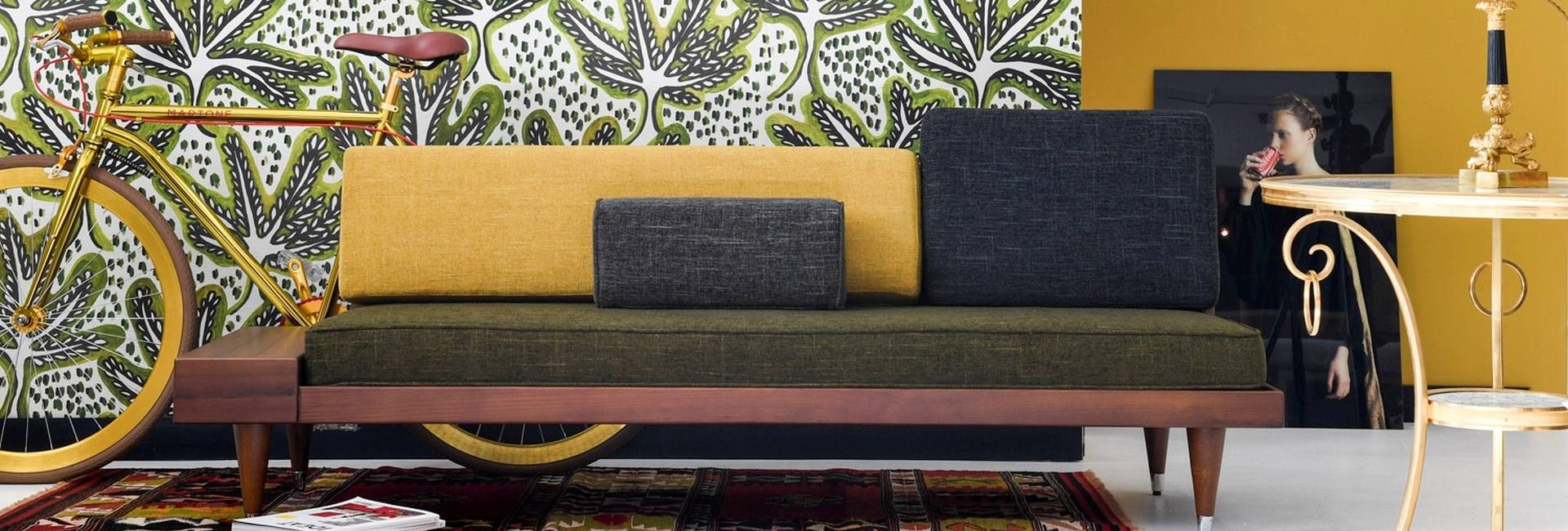 Pierre Frey fabrics and wallpapers - available from Fabric Gallery and Interiors in Dunnington, York