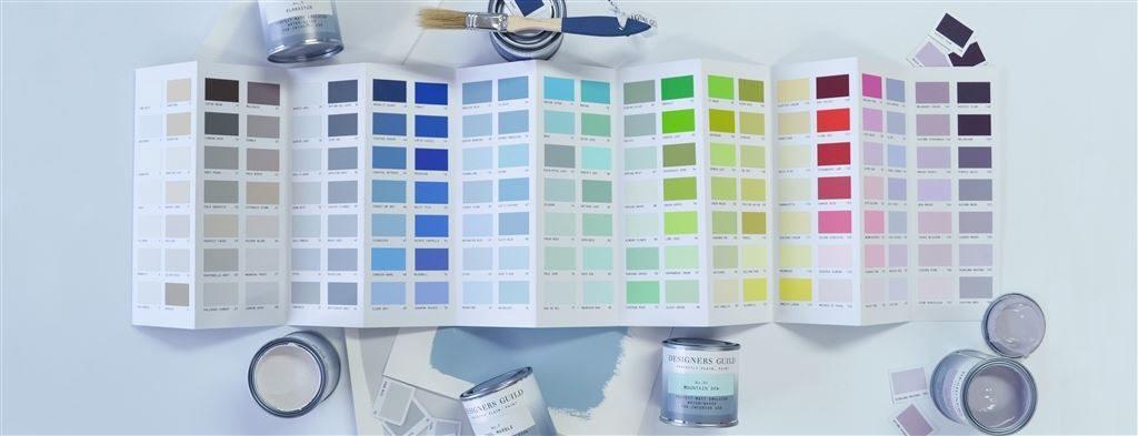 Designers Guild paint palette