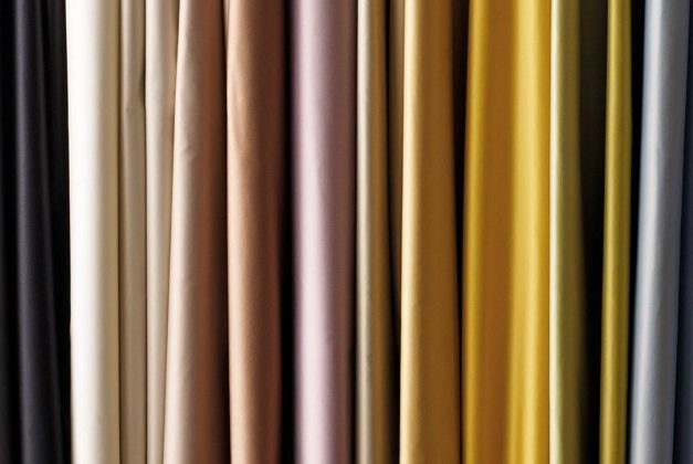 Choosing curtain fabric