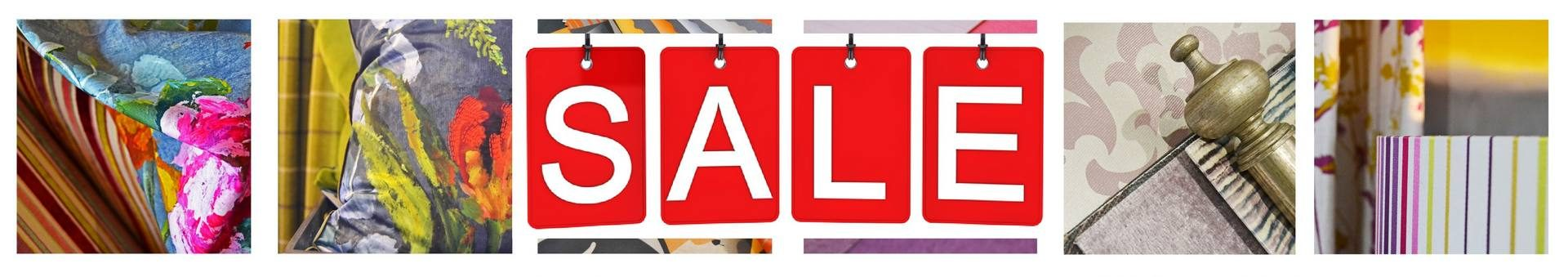 It is Sale time at Fabric Gallery and Interiors of York - banner image