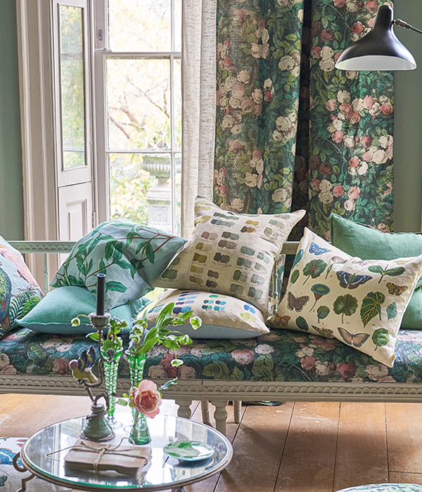 Fabrics by John Derian available from Fabric Gallery and Interiors of York