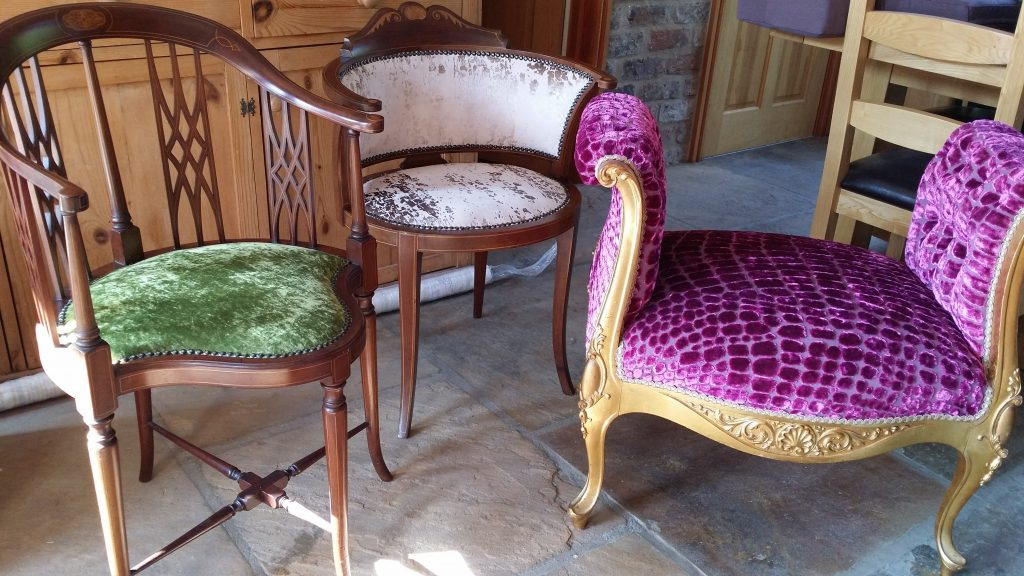 Reupholstery breathes new life into furniture and furnishes at Fabric Gallery & Interiors