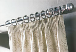 pencil pleat curtain heading - photo