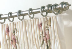 6 inch pencil pleat curtain heading - photo